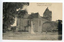 Peyrignac L'église Et Le Monument - Other Municipalities