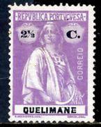 !■■■■■ds■■ Quelimane 1914 AF#30* Ceres 2,5 Centavos Chalky (x2153) - Quelimane