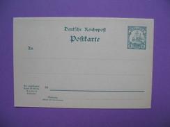Carte Postale Avec Réponse Payée Neuf - Colonie: Mariannes