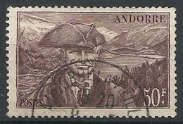 Andorre - Année 1944-46 - Y&T N° 118 Oblitéré - Voir Scan Verso - Andorre Français