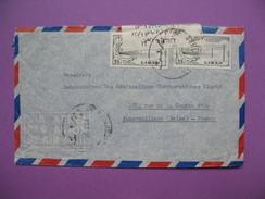 Lettre Accidentée De 1959 à Destination De La France - Lebanon