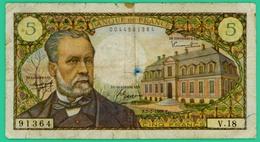 5 Francs - Pasteur - France - N° F-7-7-1968-7 - V.18 0044591364 - TB - - 5 F 1966-1970 ''Pasteur''