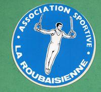 ASSOCIATION SPORTIVE LA ROUBAISIENNE - SPORT ROUBAIX  /  AUTOCOLLANT - Autocollants