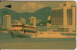 MACAU(GPT) - Ferry, CN : 1MACM, First Issue MOP$100, Tirage 15000, Used - Macau