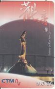 MACAU - Estatua De Kun Lam, CTM Prepaid Card MOP50, Exp.date 31/12/02, Used - Macau