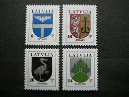 Definitive Issues Arms # Latvia Lettland Lettonie # 1996 MNH # Mi. 399/2 II - Latvia