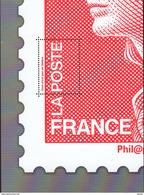 "Le Feuillet ""MARIANNE DE BEAUJARD ROUGE"" Luxe Bas Prix, A SAISIR. - Neufs"