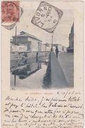 ITALIE,ITALIA,1906,toscana,livorno, Mercato,TOSCANE,TIMBRE,MARCOPHILIE,tampon Rare - Livorno