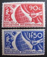 LOT DF/361 - EXPO INT. DE PARIS 1937 - NEUFS ** - N°326 à 327 - Cote : 113,00 € - Unused Stamps