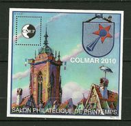 FRANCE  Feuillet Souvenir De La CNEP   2010   N° 55   Salon Philatélique De Printemps à Colmar    NEUF - CNEP