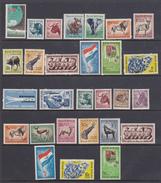 Sud Africa   1959-1961   6 Serie Cpl  Filigrana Stemma Yv. 221-247  MNH ** - Nuovi