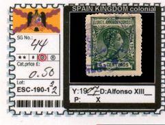 SPAIN EMPIRE-CLASSIC# SERIE(S) COLONIAL# (ESC 190-1 (22) - Elobey, Annobon & Corisco
