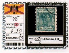 SPAIN EMPIRE-CLASSIC# SERIE(S) COLONIAL# (ESC 190-1 (23) - Elobey, Annobon & Corisco