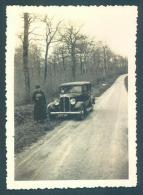 Automobile 1936 Photo 6 X 8.5cm - Auto's