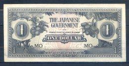506-Malaya Occ. Jap. Billet De 1 Dollar 1942 MO - Malaysie