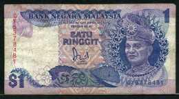 329-Malaysie Billet De 1 Ringgit 1981-83 GY537 - Malaysie