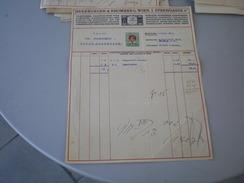 Wien Herrburger Rhomberg  Spinnereien Buntweberei Appretur 2 H Stamps 1911 - Austria