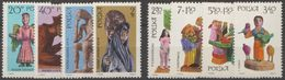 Pologne 1969 N° 1820-28 NMH Sculptures Populaires Polonaises (D17) - Nuovi