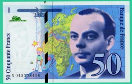 50 Francs - Saint Exupéry  - France - N° N0454358456 - 1997   - Neuf - - 1992-2000 Last Series