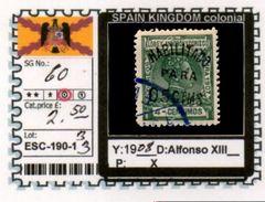 SPAIN EMPIRE-CLASSIC# SERIE(S) COLONIAL# (ESC 190-1 (33) - Elobey, Annobon & Corisco