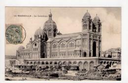 CPA-AP413-MARSEILLE LA CATHEDRALE MARCHANDISES A QUAI 1905 - Monuments