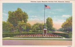 Indiana Hammond American Legion Memorial Harrison Park Curteich - Hammond