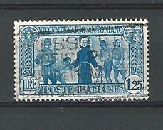 1931 N° 278 LE SAINT DELIVRE DES CAPTIFS  OBLITERE - 1900-44 Vittorio Emanuele III