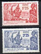 Col 4/ Wallis Et Futuna  N° 70 & 71 Neuf X MH Cote 7,00€ - Neufs