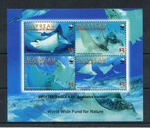 """WWF - St. Vincent Grenadinen Mayreau - Block Nr. 4 - """"Adlerrochen"""" ** / MNH (Jahr 2009) - W.W.F."""