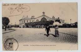 44 - Nantes -  La Gare D Orleans Et Ses Spacieuses Voies D Acces - Nantes
