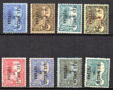 Col 4/ Wallis Et Futuna Taxe  N° 1 à 9 Neuf X MH Cote 17,00€ - Postage Due
