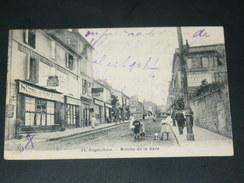 ANGOULEME 1910  /   LA  MONTEE DE  LA GARE  /  EDIT - Angouleme
