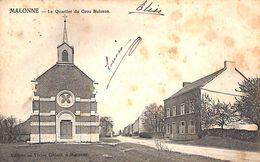 Malonne - Le Quartier Du Gros Buisson (Edit. Victor Gillain, Précurseur) - Namur