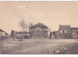 Hauviné Dorfplatz  Carte Allemande - France