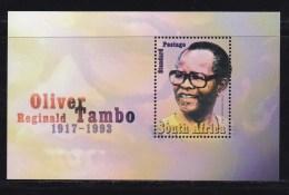 RSA, 2003, Mint Never Hinged Stamp(s), Olivier Tambo, Mi Block 96, #9009 - Zuid-Afrika (1961-...)