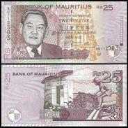 Mauritius 25 RUPEES 2009 P 49 UNC (Ile Maurice, Isla Mauricio) - Maurice
