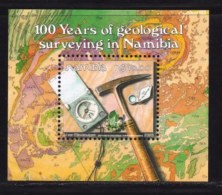 NAMIBIA, 2003, Mint Never Hinged Block Of Stamp(s), Geological Surveying,  Ms 435, #6935 - Namibië (1990- ...)