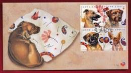 RSA, 2003, Mint F.D.C. Junass Dogs, MI Nr. 7-58, F3788 - FDC