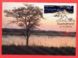 NAMIBIA, 2000, Maxi Cards, Sunrise Over Namibia, MI Nr. 317, F3839 - Namibië (1990- ...)