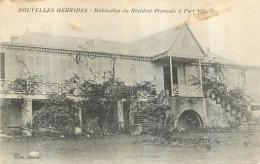 NOUVELLES HEBRIDES HABITATION DU RESIDENT FRANCAIS A PORT VILA - Vanuatu