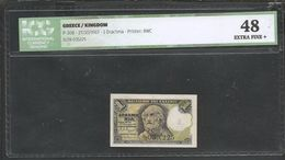 """Drachmae  1/27.10.1917  """"Homer""""!   ICG 48 EXTRA FINE+! (My Opinion At Least AUNC) - Griechenland"""