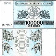 Georgia - 100000 Coupons 1994 UNC Bundle 100 Pcs - Géorgie