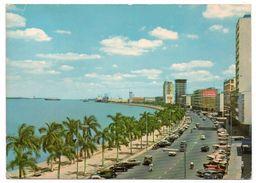 ANGOLA - LUANDA AVENIDA PAULO DIAS DE NOVAIS / THEMATIC STAMP- COAT OF ARMS - Angola