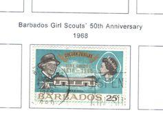 Barbados 1968 Scout  Valori 01 Usati Scott.307 See Scans - Barbados (...-1966)
