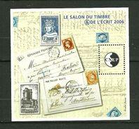 FRANCE  Feuillet Souvenir De La CNEP   2006   N° 46   Salon Du Timbre Et De L'Esprit à Paris    NEUF - CNEP