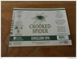 BIERETIKET CROOKED SPIDER IPA - Bière