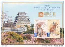 Australia  2011  Japan Show 2011 Minisheet MNH - Mint Stamps