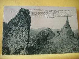 B10 3484 - 15 THIEZAC - CHAOS DE CASTELTINET, L'AIGUILLE ET LE PAIN-DE-SUCRE - 1945 - ANIMATION - Autres Communes
