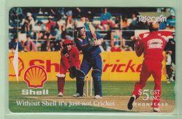 New Zealand - 1993 Shell Sports - $5 Cricket - NZ-A-9 - Mint - New Zealand