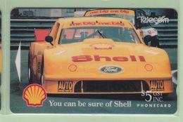 New Zealand - 1993 Shell Sports - $5 Ford Merkur - NZ-A-12 - Mint - Nuova Zelanda